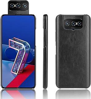 For Asus Zenfone 7 ZS670KS / 7 Pro ZS671KS Shockproof Litchi Texture PC + PU Case Unti-drop (Color : Black)