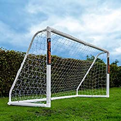 FOOTBALL FLICK URBAN GOALS – Finest quality giving the ultimate uPVC goal from a leading brand you can trust with a 1 YEAR MANUFACTURERS GUARANTEE. Set contains Goal, net, net clips & ground pegs. URBAN LOCKING SYSTEM – One of the only pre-installed,...