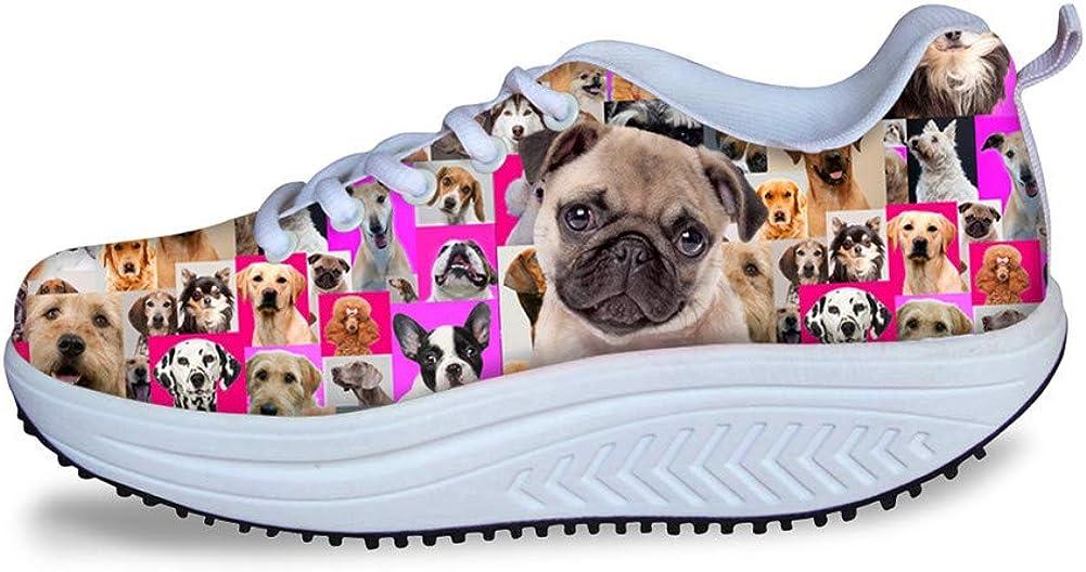 FOR U DESIGNS Swing Wedges Platform Shoes Women Comfortable Toni