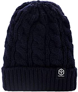 【TaoTech】 ニット帽 ビーニー ニットキャップ 折り返し 帽子 ワッチ タグ付き ポンポン かわいい ストレッチ レディース メンズ アウトドア