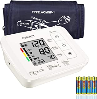 Upper Arm Blood Pressure Monitor with Accurate Digital Automatic Measurement Blood Pressure Monitor with Large Adjustable Cuff(8.7