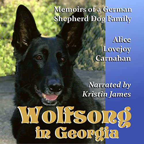 Wolfsong in Georgia audiobook cover art