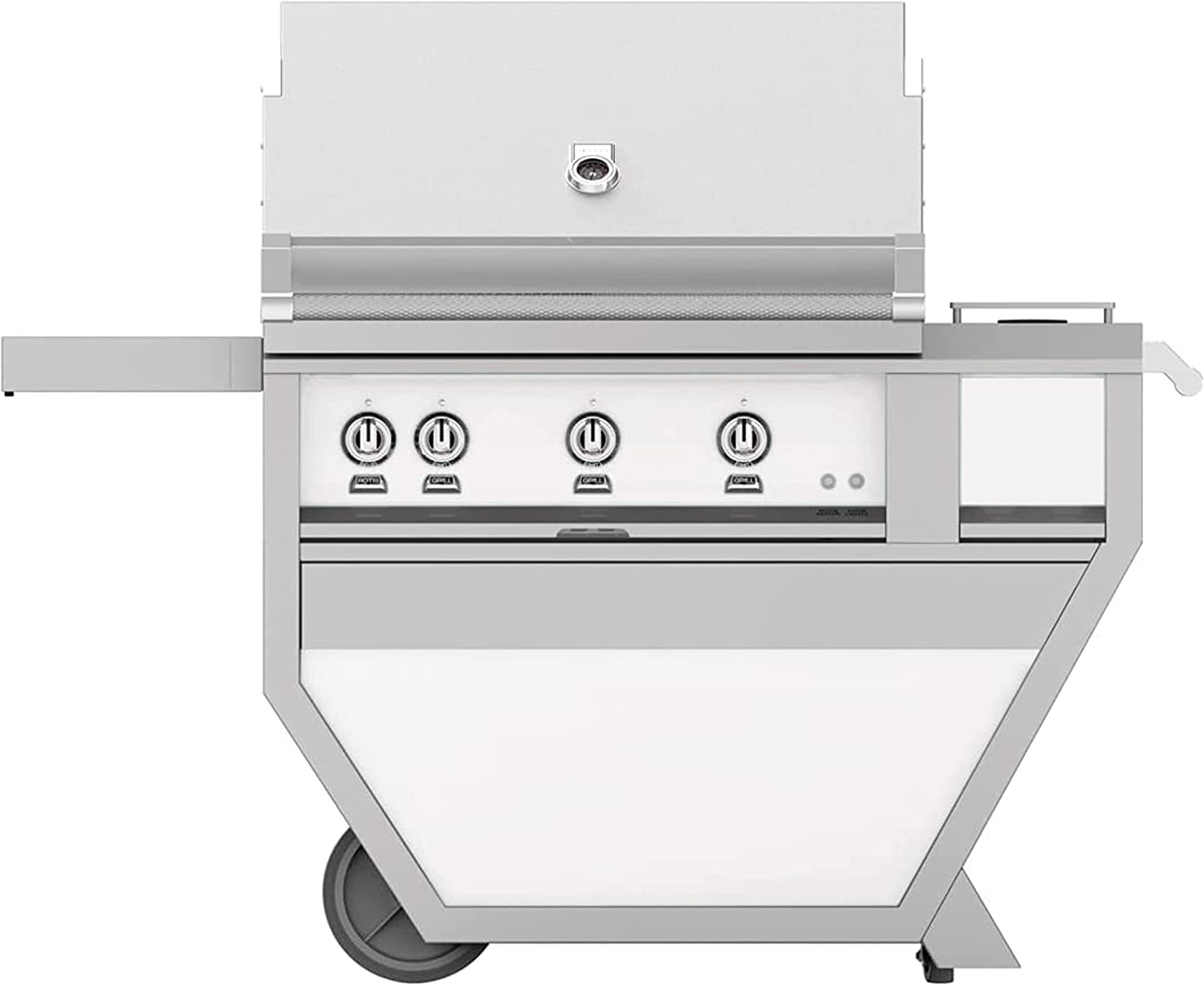 Hestan 89000 BTU 36 Inch Wide Branded goods 3 Standing Purchase Grill. Natural Free Gas