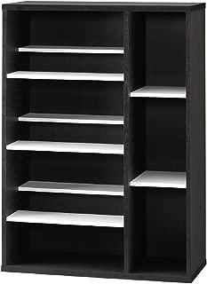 朝日木材加工 本棚 COMIDIS 幅75.8cm 奥行29cm 高さ107.8cm コミック 収納 CMB-1180SH