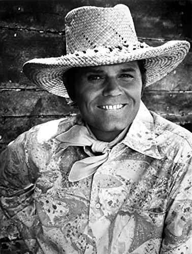Jack Lord wearing a cowboy hat Photo Print (8 x 10)