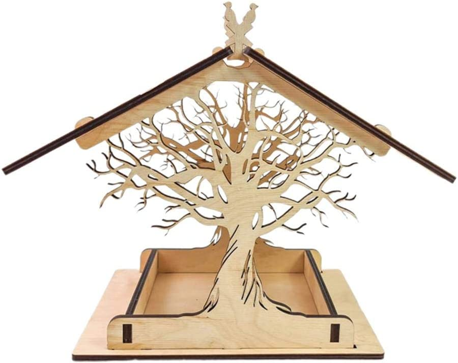 T.Y.G.F Max 55% OFF Bird Feeder Wooden Birdhouse - for Outside B Houses 100% quality warranty