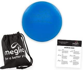 ideal para puntos gatillo Pelota de lacrosse con forma de cacahuete ResultSport/® yoga crossfit liberaci/ón miofascial
