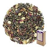 Núm. 1307: Té verde 'Bayas de goji' - hojas sueltas - 250 g - GAIWAN® GERMANY - oolong verde de China, cacao, bayas de goji, regaliz, pétalos de Jazmín y rosa