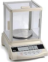 Balances de cuisine Balance électronique analytique de laboratoire de haute précision 0,01g Échelle de bijoux (Color : Wh...