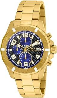Invicta 17718 Reloj Análogo para Hombre, color Oro