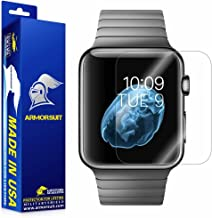 ArmorSuit MilitaryShield Max Coverage Screen Protector for Apple Watch 42mm (Series 3 / 2 / 1 Compatible) [2 Pack] - Anti-Bubble HD Clear Film