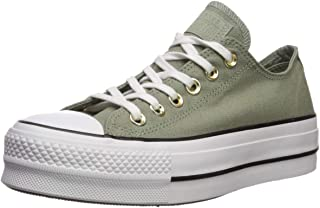converse all star canvas verde