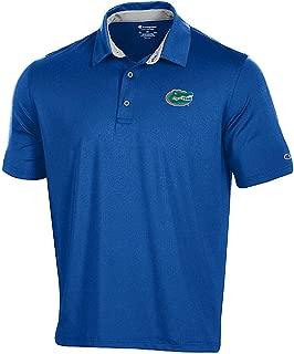 Gear for Sports Florida Gators Men's Royal Blitz Synthetic Polo Shirt (Large)