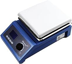 دماسنج آزمایشگاهی دیجیتال Magnetic Stirrer با سنسور دما و Clamp پشتیبانی ~ 7x7inch، 600W، ظرفیت 5L، گارانتی یک سال