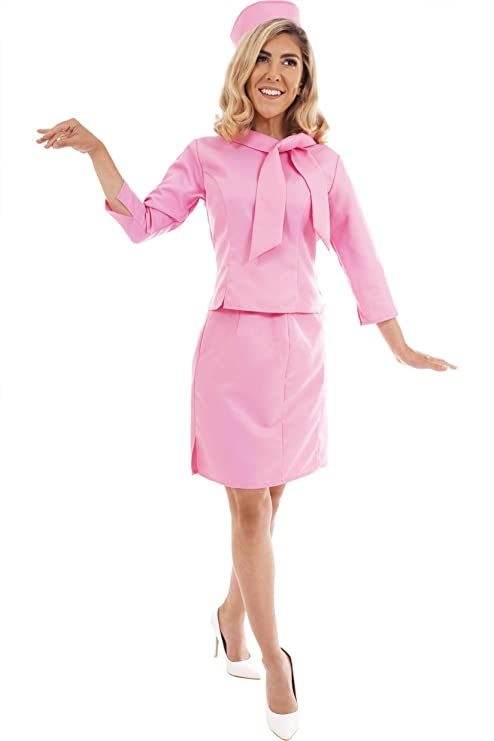80s Costumes, 80s Clothing Ideas- Girls Toynk Legally Blonde 2 Elle Woods Costume | Authentic Movie Inspired Design | Includes Pink Jacket Skirt & Pillbox Hat | Adult Small  AT vintagedancer.com