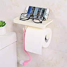 Badkamer Tissue Box plastic toiletrolhouder Wall Mounted Storage Box servetdispenser Organizer naadloze hangende (Color : ...