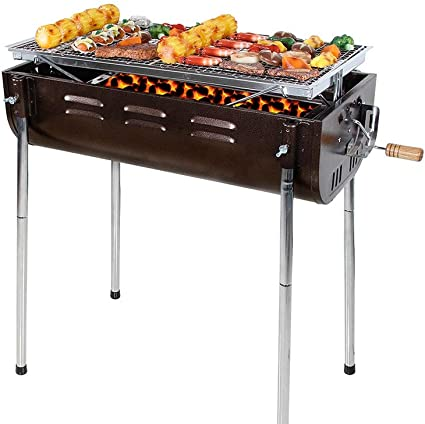 Barel BBQ Grill Charcoal Barbecue Cooker Portable Home ...