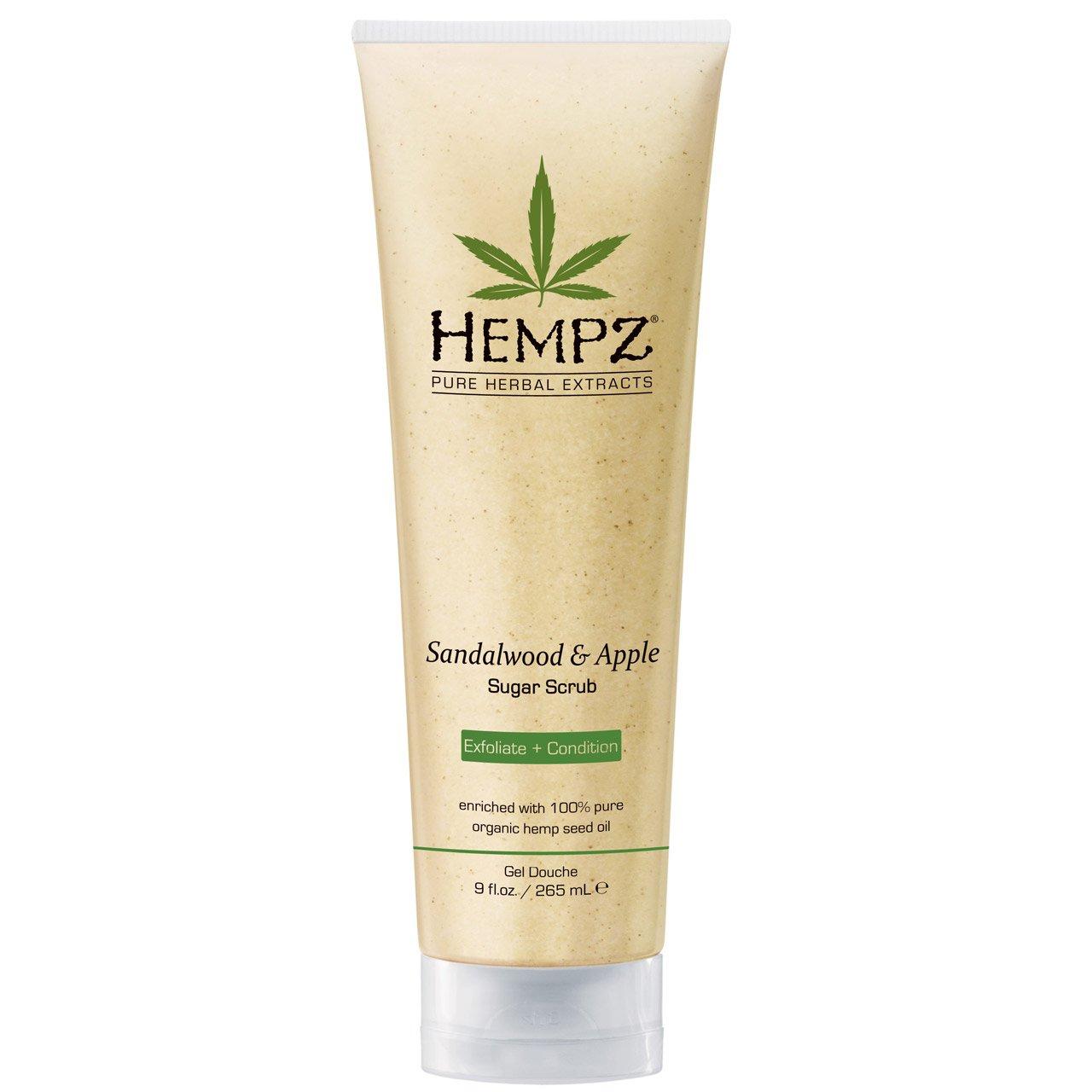 Hempz Finally resale start Herbal Body Scrub Sandalwood Apple Ounce 9 Import And