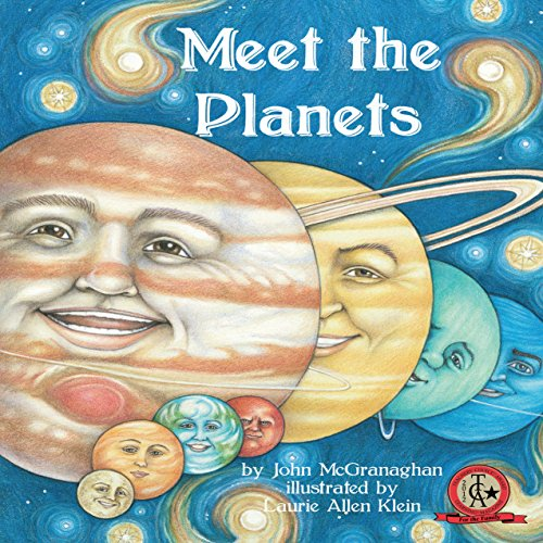 Meet the Planets audiobook cover art