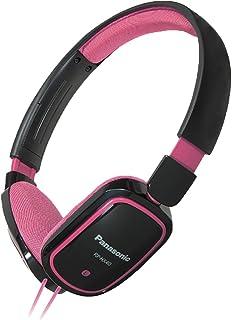 Panasonic RP-HX40-PK Light Weight On Ear Monitors -Pink/Black