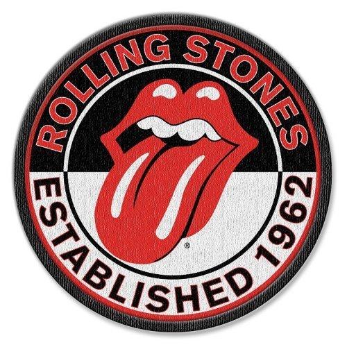 """Rockoff Trade RSPAT03 Flicken mit Standard-Motiv """"The Rolling Stones Est. 1962"""", zum Aufbügeln"""