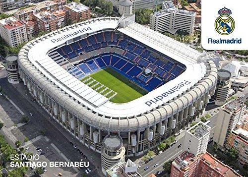 Grupo Erik Editores–Postkarte, 11x 16cm Real Madrid, Stadion von außen 11 x 16 cm