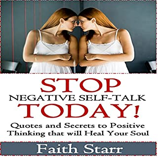 Stop Negative Self-Talk Today cover art