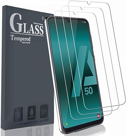 Ferilinso Vetro Temperato per Samsung Galaxy M30 / Galaxy A50 / Galaxy A30,[3 Pack] Pellicola Protettiva Protezione Schermo in Vetro Temperato Screen Protector Film con Garanzia di Sostituzione