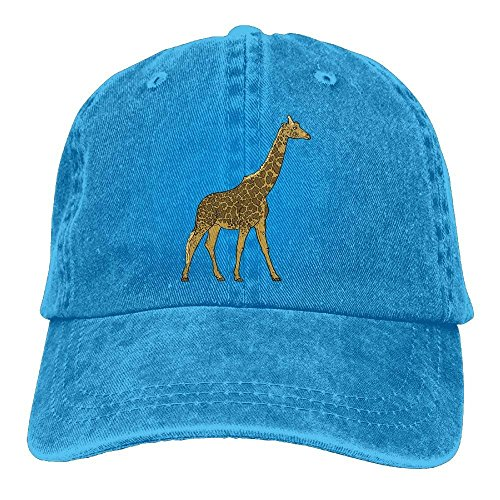 Hoswee Unisex Kappe/Baseballkappe, Giraffe Adjustable Cowboy Baseball Cap Dad Hat Trucker Hat