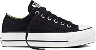 b4c95bf9e1 Converse Chuck Zapatillas Taylor All Star Lift para Mujer Zapatillas de  Lona Zapatillas Deportivas con Pegatinas