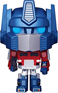 Funko Pop! Retro Toys: Transformers - Metallic Optimus Prime Amazon Exclusive