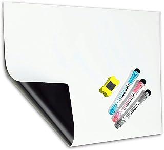 MZMing A3 Magnétique Tableau Blanc Réfrigérateur Magnétique et Liste Cuisinetableau Blanc Être Appliquer Enfants et Adulte...