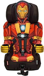 KidsEmbrace 2-in-1 Harness Booster Car Seat, Marvel Avengers Iron Man