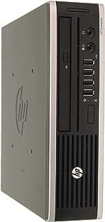 HP Elite 8300 Ultra Slim High Performance Business Desktop Computer, Intel Quad Core i7 Up to 3.9Ghz, 8GB RAM, 240GB SSD, DisplayPort, USB 3.0, Windows 10 Pro (Renewed)