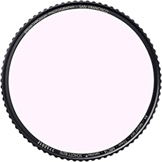 82mm Night Sky Light Pollution Reduction Filter for Camera lenses with MRC16, Nanotec Coatings, Ultra-Slim, Traction Frame, Weather-Sealed by Breakthrough Photography