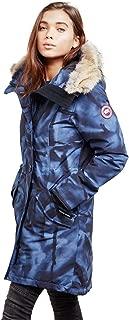 Canada Goose Rossclair Fur Trimmed Down Parka Jacket Coat