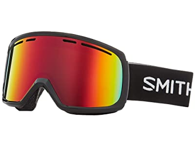 Smith Optics Range Goggle (Black/Red Sol-X Mirror) Snow Goggles