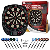 WIN.MAX Electronic Dart Board,Soft Tip Dartboard Set LCD Display with 6 Darts, 40 Tips, Power Adapter (1)