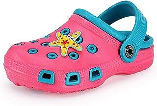 Sabot Enfant Mules Pantoufles Bébé Fille Garçon Chaussons Été Sandales Antidérapant Jardin Piscine Chaussures