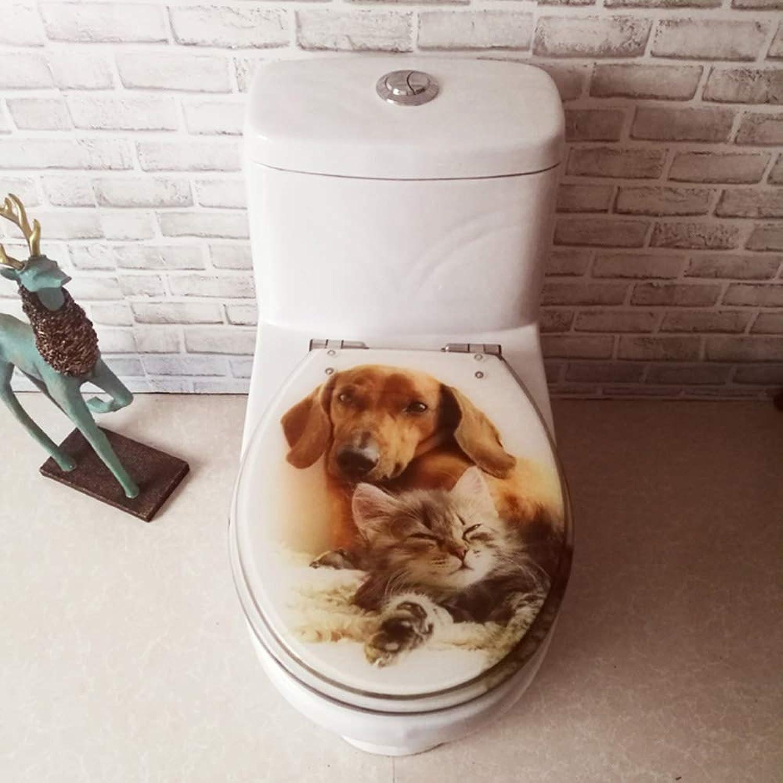 WC-Sitz Toilet seat, resin toilet seat cover plate, descending OUV universal
