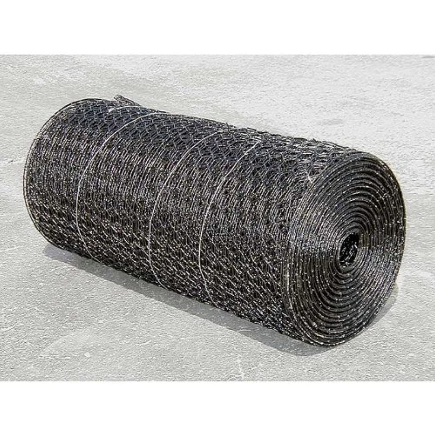 PVC Coated Hex Wire 7' High x 150' Long Roll