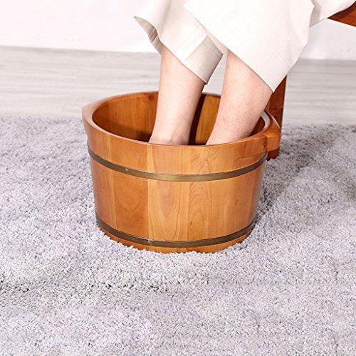 Buy Foot Massagers Cervine Foot Bath Barrel Soothing Massage Barrel Feet Cask Household Foot tub Buc...