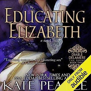 Educating Elizabeth audiobook cover art