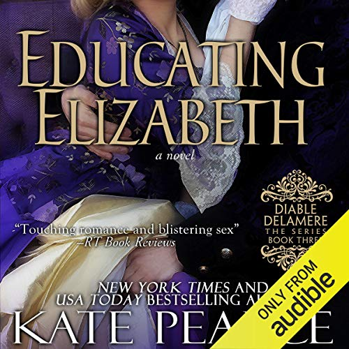 Educating Elizabeth audiobook cover art