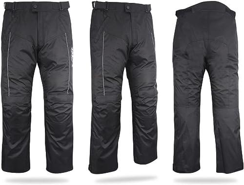, Blu 48 Lungo//Vita 32 Lunghezza 34 M JET Pantaloni Moto Uomo Jeans Kevlar Aramid Con larmatura TECH PRO