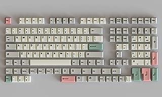 HK Gaming Dye Sublimacja | Profil wiśni | Grube zestawy klawiszy PBT do klawiatury mechanicznej (139 klawiszy, 9009)