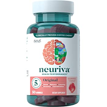 Amazon.com: Brain Support Supplement - NEURIVA Plus (30 count in a bottle),  Plus B6, B12 & Folic Acid, Supports 6 Indicators Of Brain Performance:  Focus, Memory, Learning, Accuracy, Concentration & Reasoning: Health