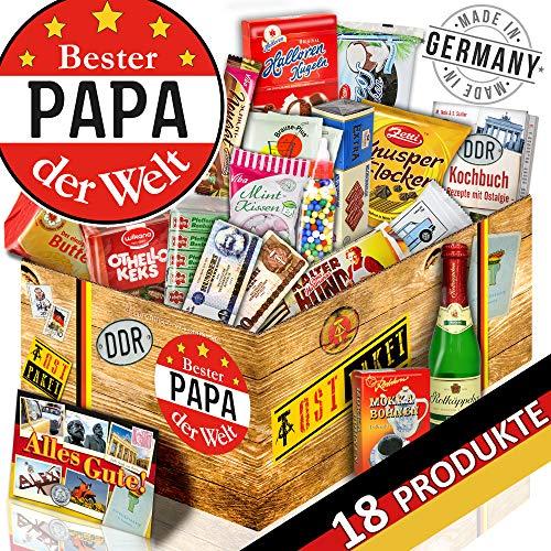 Bester Papa Geschenbox - Geburtstag Geschenke Ideen - DDR Süßigkeiten