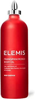 Elemis Frangipani Monoi Body Oil, Olio Frangipani Monoi, per Capelli, Unghie e Corpo - 100 ml