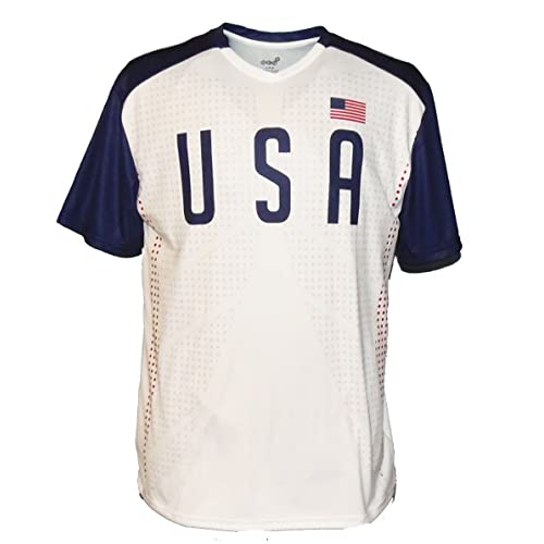 buy online 3d326 d6c05 Amazon.com: USA National Team Soccer Jersey - Replica ...